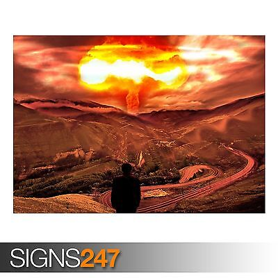 DESTRUIO NUCLEAR Photo Picture Poster Print Art A0 to A4 AC046 ARMY POSTER