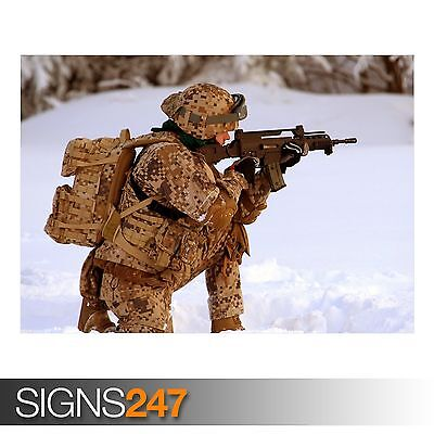 SOLDIER ARMY POSTER AC043 Photo Picture Poster Print Art A0 A1 A2 A3 A4