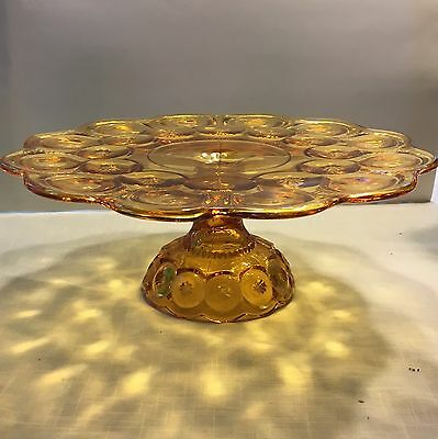 Le Smith Vintage Moon And Stars Cake Stand/plate-Amberina
