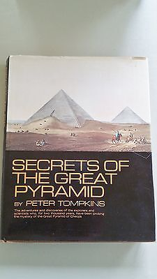 Secrets of the Great Pyramid by Peter Tompkins (1971, Hardcover) Book
