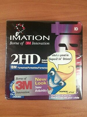 "(Sealed) Imation 2Hd 10 Pack 3.5"" Formatted Diskettes"