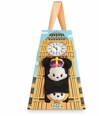 US Disney London Mickey and Minnie Mouse Mini Tsum Tsum New in Box!