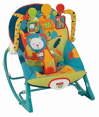 Baby Bouncer Seat Newborn Infant Toddler Musical Vibrating Rocker Chair Gift New