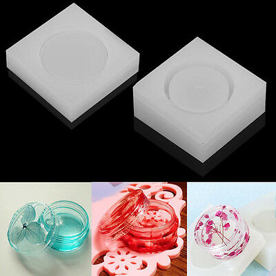 Silicone Storage Box Mold Resin Jewelry Making Mould Casting Craft DIY Tool