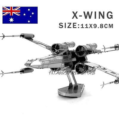 3D METAL Brain Teaser ADULT Game PUZZLE STAR WARS, X Wing Fighter