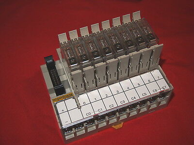 Omron P7Tf-Os08-Dc24V *new* Relay Block 8Point, 8-G7T-1112S 24Vdc Coil