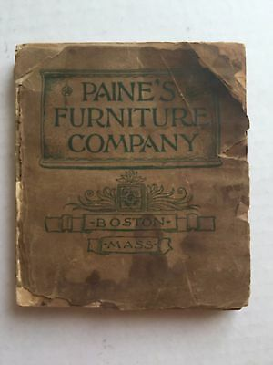 Rare 1900's Paine Furniture Catalog Boston Mass 250 Pages