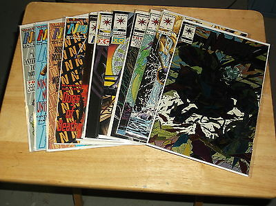 Lot Of 12 Ninjak Comic Book Run # 1 2 3 4 5 6 7 8 9 10 11 12 Valiant Comics