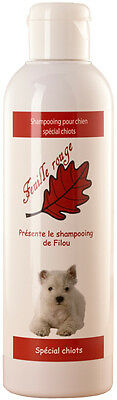 Feuille rouge - Shampooing pour chiots - 250 ml