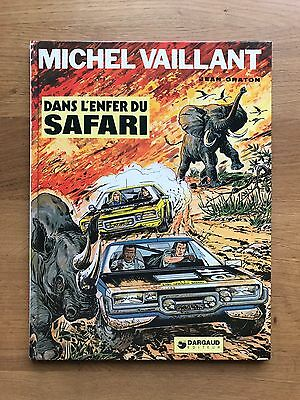Graton Michel Vaillant Tome 27 Dans l'Enfer du Safari EO Avril 1975 TBE+