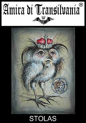 Stolas owl spirits seances spiritualism ceremonial magic mentalism seal sigil