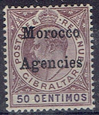 Morocco Agencies 1903 KEVV 50c very fine unhinged/unmounted mint