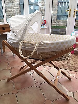 Mothercare Moses Basket With M&P Stand