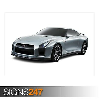 CAR POSTER AA377 Photo Picture Poster Print Art A0 to A4 NISSAN GT R CAR