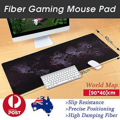 90x40cm PC Computer Desktop Mouse Mat Pad For Wireless USB Gaming Keyboard Mouse