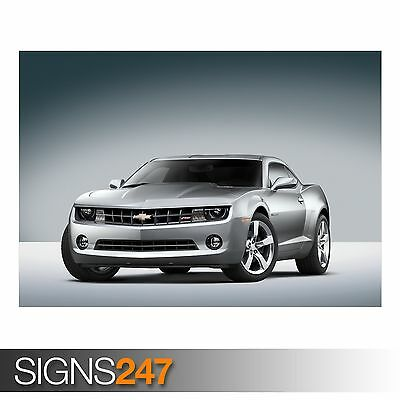 Photo Picture Poster Print Art A0 to A4 AA416 CHEVROLET CAMARO SS CAR POSTER
