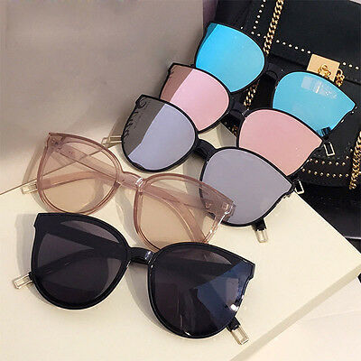 Hot Fashion Womens Girls Oversized Cat Eye Sunglasses Glasses Eyewear 8 Colours