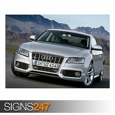 AUDI S5 COUPE Photo Picture Poster Print Art A0 A1 A2 A3 A4 AB590 CAR POSTER