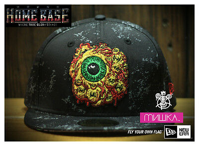 Limited New Era 59FIFTY Fitted Mishka Exploding Lava Keep Watch Splatter