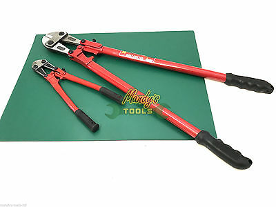 "BUY 2: Bolt Cutters Croppers 14"" & 30"" Wire Cable Bolt Cutting Tool Heavy Duty"
