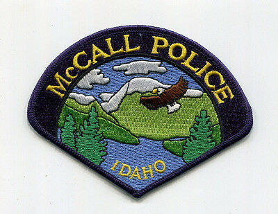 McCall Idaho Police Patch /// FREE US SHIPPING