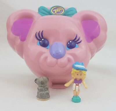 Vintage Polly Pocket Koala Picnic 100%Complete 1994 excellent condition