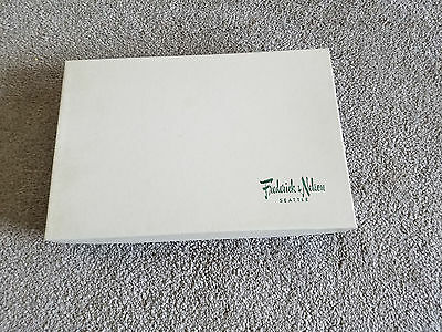 "Vintage Frederick & Nelson Seattle store box green and white 10.5"" x 7"""