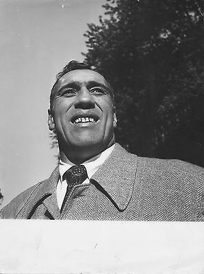 Photo originale Primo Carnera boxe