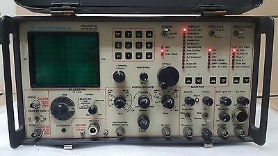 Motorola R2021D/NS 220V Communications System Analyzer, Service Monitor