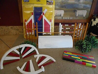 Breyer Model Horse Prop Lot Traditional - Show Jumping