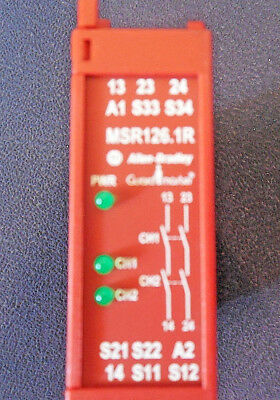 Allen-Bradley 440R-N23120 Guard Master Msr126.1R Safety Relay