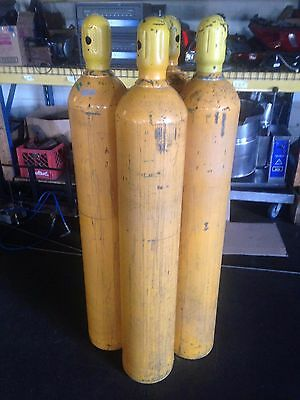 Used DOT 4500 PSI Air Cascade Storage Cylinders Diving Scuba Dive Paintball