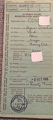 Ford Tractor Log Book