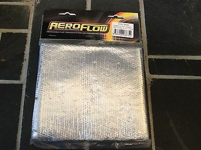 Flexible Aluminium Heat Shield Wrap, Heat Reflective, 51cm x 30cm
