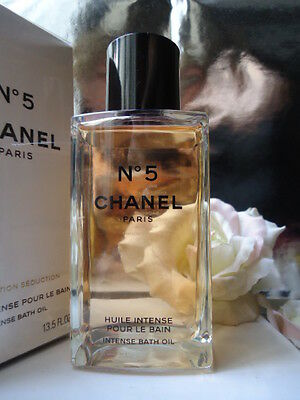CHANEL No5 INTENSE BATH OIL 250ml FAB RARE DISCONTINUED GLASS BOTTLE SEALED BOX