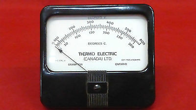 Simpson 62105 *new* Thermo Electric Panel Meter Model #29 (2D0)