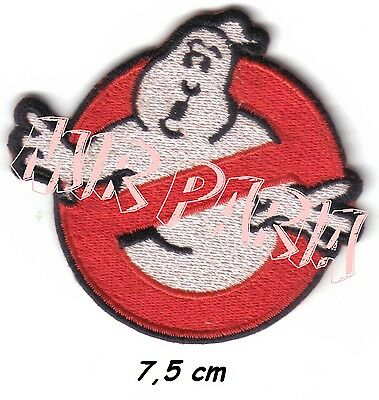 78600232 GHOSTBUSTERS LOGO Fancy Dress RICAMATO TOPPA Embroidered Patch