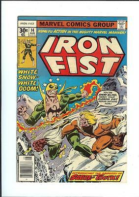 Iron Fist #14 ~ 1st appearance SABRETOOTH 1977 John Byrne ~ Beautiful NM!