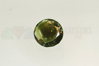 Green Tourmaline Round 2.71ct 9mm Loose Natural Gemstone Afghanistan