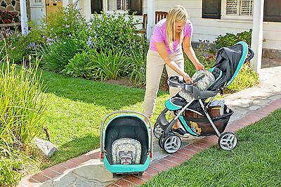 Infant Toddler Stroller Car Seat Commuter Compact Travel System 2 in 1 New