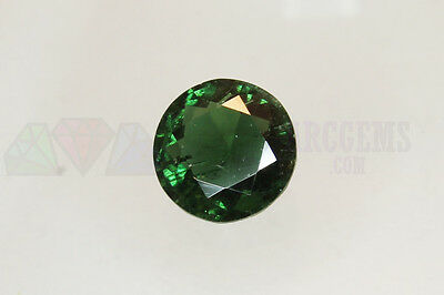 Green Tourmaline Round 4.36ct 11mm Loose Natural Gemstone Afghanistan