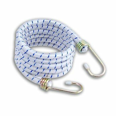 "Heavy Duty Bungee Cord with Galvanized Hooks 1/2"" Diameter Strap Extra Long"