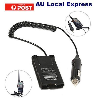 Car Battery Eliminator for BAOFENG UV-5R Dual Band Radio Walkie Talkie SU