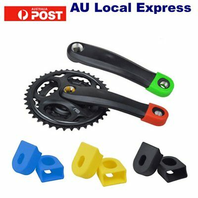 Crankset Mountainbike Bicycle Protective Bash Boots For Alloy Crank Arm SU