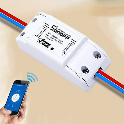 WiFi Wireless Switch Relay Module Smart Home For Apple Android Smartphones