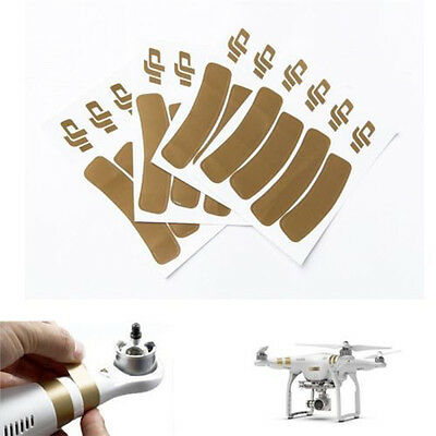 Phantom Replacement Decals Gold Style Stickers for DJi Phantom 1 2 3 Rotor Arm