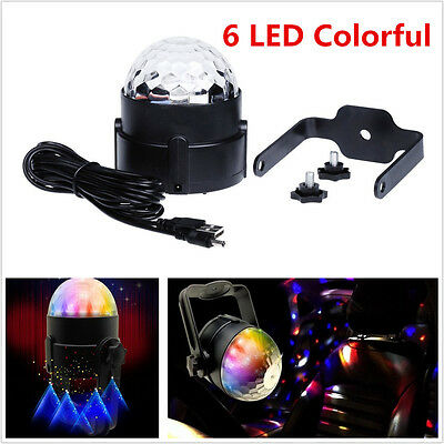 Colorful Car Disco DJ LED Light Strobe Lighting Effect Stage Light Music Active