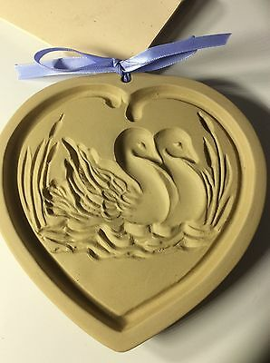 NEW Brown Bag Designs  2005 Swan Song Cookie, Paper, Chocolate & Art/Wax  Mold