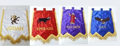 Royal Arch Banners, ROYAL ARCH MASONRY CHAPTER BANNERS, RAM Embroidery Banner ,