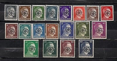 Occupation Germany Hitler Lot Local Private Mnh Original Stamps #9